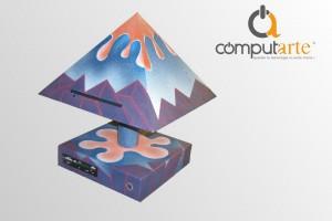 ComputArte PiramiDina - personalizzata da Patrizio Alviti Roma