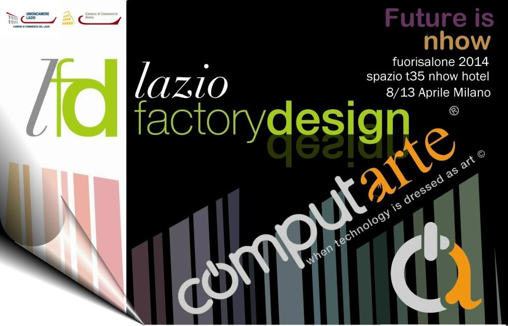 Invito ComputArte per il  FuoriSalone 2014 - Milano 8-13 Marzo - Nhow hotel
