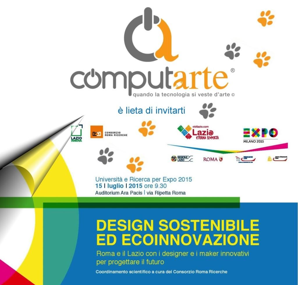 ComputArte Design Sostenibile ed ecoinnovazione . 15 Luglio Ara Pacis Roma