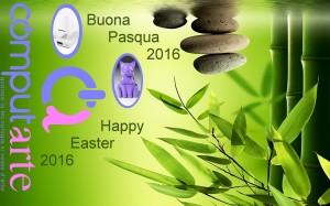 ComputArte - Auguri Pasqua 2016