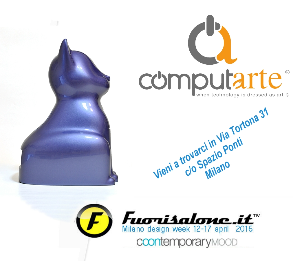 ComputArte - Invito Fuorisalone 2016 - 12-17 Aprile Milano