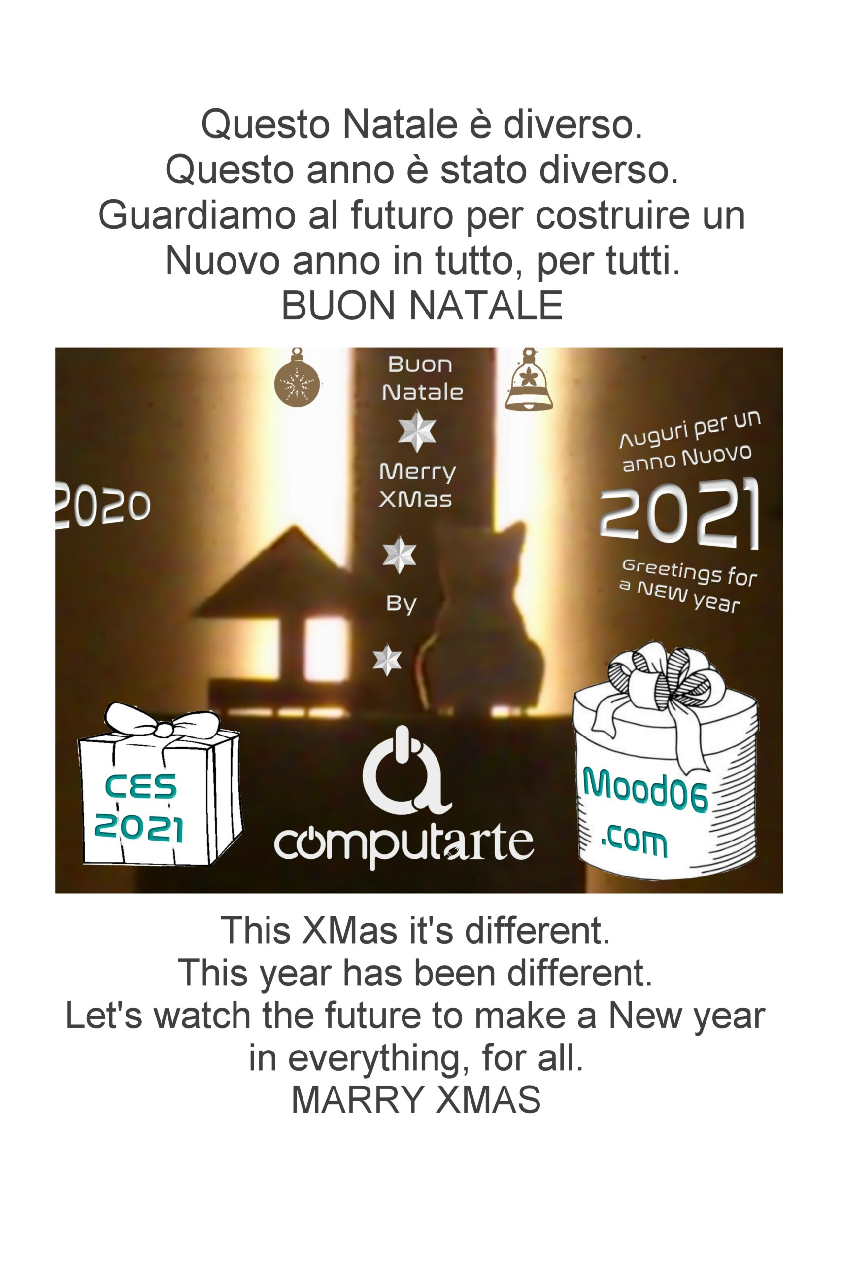 ComputArte 2020: Buon Natale – Merry Xmas